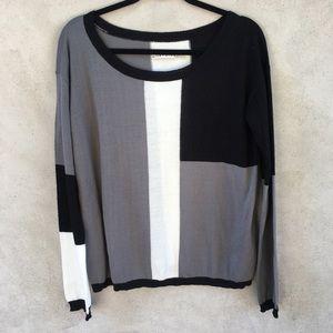 Alice + Olivia Color-Block Sweater
